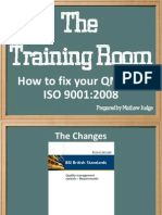 Training Room How to Fix Your QMS for ISO 9001.2008 (12 Pages