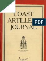 Coast Artillery Journal - Aug 1926