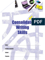 consolidate writing skills