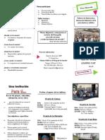 Brochure OMP - Talleres Misioneros