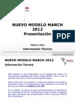 Informacion Tecnica MARCH