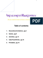 Wonka Party Guide
