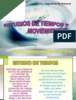 Estudios de Tiempos y Moviemientos