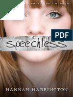 Speechless by Hannah Harrington - Chapter Sampler