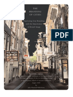 THE BRANDING OF CITIES