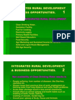 Microsoft PowerPoint - INTEGRATED RURAL DEVELOPMENT AND BUSINESS OPPORTUNITIES.