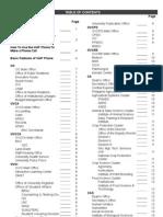 UPLB Telephone Directory 2012