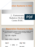 Separation Systems in RIA