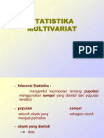 Statistika-Multivariat
