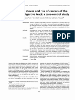 Use of Wood Stoves and Risk of Cancers of the Upper Aero-digestive Tract