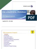 ESD Awareness Program _Subcon v1 0 [Read-Only]