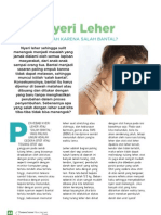 Nyeri Leher - Alarm Tubuh - LY