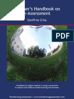 Geoffrey Crisp 2011_teacher's Handbook on E-Assessment