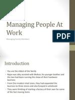Managing People at Work