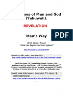 Revelation Ways of Man and God .Doc 24.8
