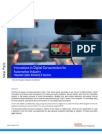 Innovations in Digital Consumerism for Automotive Industry