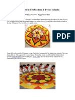 Onam Festival Celebrations and Events in India