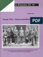Historische Tatsachen - Nr. 82 - Siegfried Egel - Prozess 1924 - Dokumentenfaelschung 1945 (2001, 40 S., Scan)