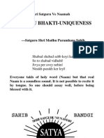 Satguru Bhakti (Uniqueness) (English)