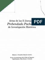 (2008) Actas II Jornadas Prebendado Pacheco