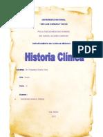 Historia Clnica Ginacologica