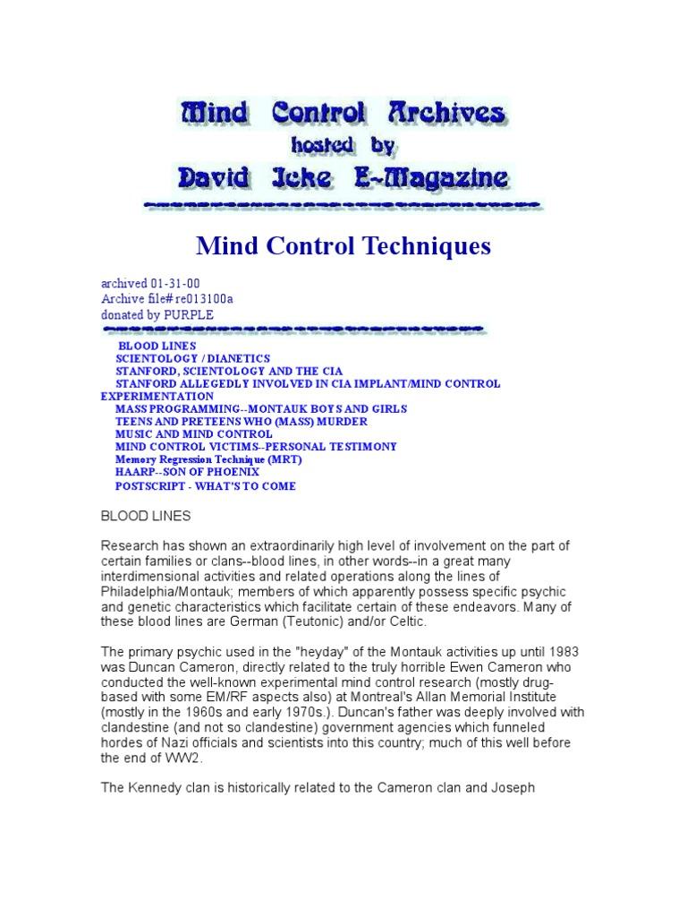 Mind control techniques - Mind Control Techniques 13