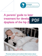A Parents Guide to Treatment for Development Dysplasia of the Hip