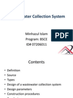 Waste Water Collection System