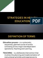 Strategies in Health Education (1)