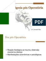 Analgesia Pos Operatoria