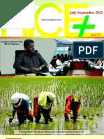 Rice Plus Magazine Quarterly ;6th ISSUE;July-September 2012;Lahore Pakistan Mujahid Ali ;Rice,