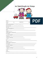 Ficha de Identificação da Criança