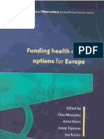 Funding Health Care Europe NoPW