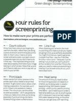 Simple Screen-printing Rules
