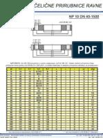 Celicne Prirubnice Ravne NP10 DN 40-1500