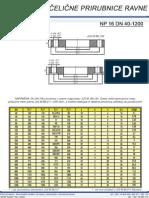 Celicne Prirubnice Ravne NP16 DN 40-1200