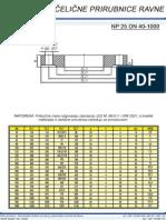 Celicne Prirubnice Ravne NP25 DN 40-1000