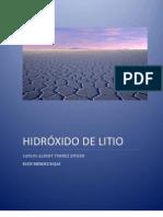 Informe Hidroxido de Litio Compartido