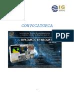 Convocatoria geomatica Inst. Geografía