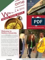 Welcome Week Brochure