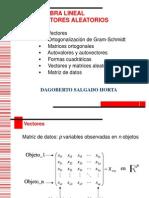 Algebra y Vectores Aleatorios