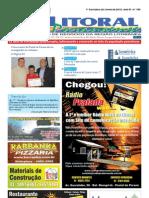Jornal DoLitoral Paranaense - Edição 186 - Online - junho 2012