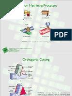 Common Machining Processes