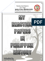 Philippine History Reaction Paper