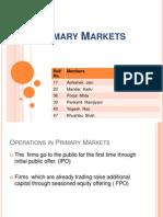 Primary Markets Apk