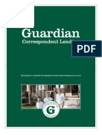 Correspondent Lending Offerings From Guardian Mortgage Company
