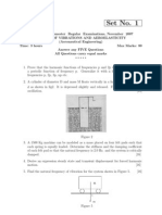 Rr412101 Theory of Vibrations and Aeroelasticity