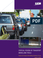 Critical Review of Transport Modelling Tools Review_of_transport_modelling_tools