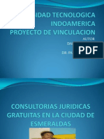 Proyecto de Consultorio Juridico