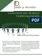 Division y Especializacion Del Trabajo